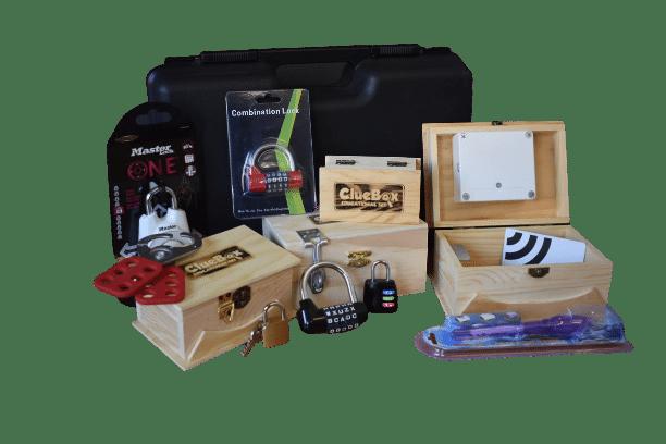 ClueBox edukativni set je namijenjen osnovnim i srednjim školama